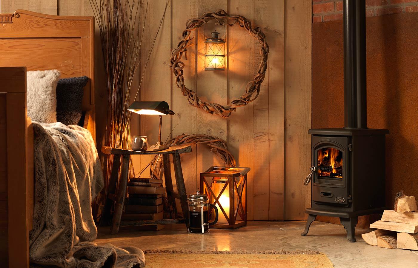 Wood burner cheshire