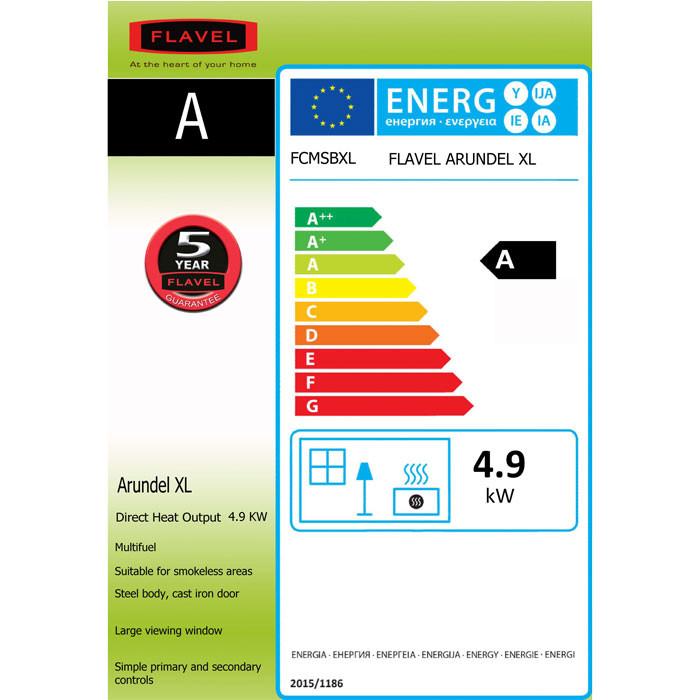 flavel arundel xl energy label