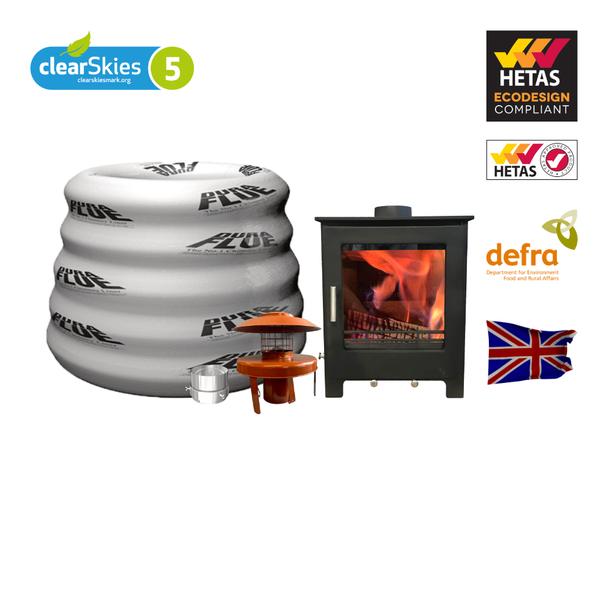 lowry 5x multi fuel stove